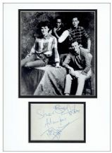 Big Country Autograph Signed Display - Stuart Adamson